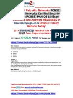 [November-2019]Braindump2go New PCNSE VCE and PCNSE PDF Dumps Free Share