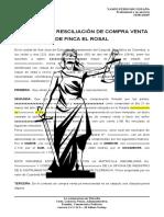 CONTRATO DE RECISIACION