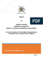 PS's Speech at the Power Forum_Energy & Minerals Week 2020 Nov 27 2020