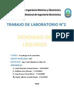 Trabajo de lab Densidades