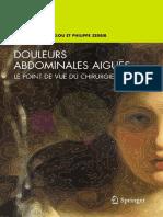 Andre Khoury-Helou, Philippe Zerbib-Douleurs abdominales aigues_ Le point de vue du chirurgien (French Edition) (2009)
