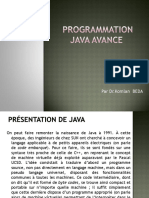 programmation Java avance Partie 1