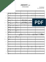 Andante K315 Flauta y Banda (Mozart)
