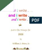 And i Write Book