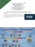 Líneas de tiempo Superhéroes - Sociohumanística 1