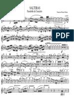 SALTERAS - Clarinet in Bb 1