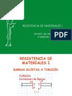PROBLEMAS DE BARRAS SUJETAS A TORSIÓN (1)