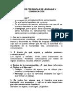 BANCO DE PREGUNTAS DE LENGUAJE Y COMUNICACIÓN_2