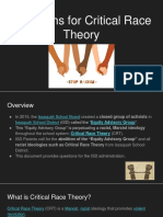 Questions for Critical Race Theory