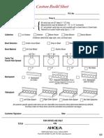 Custom Build Vanity Sheet