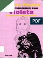 Thomas, Florence - Conversaciones Con Violeta