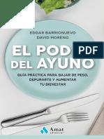 original_El poder del ayuno Guía práctica para bajar de peso depurarte y aumentar tu bienestar - Edgar Barrionuevo