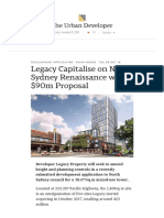 Legacy Capitalise on North Sydney Renaissance with $90m Proposal