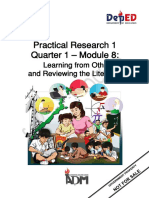 Senior Practical Research 1-Q1-Module8 for printing