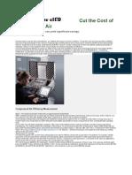 Cut Cost of Air Compressor