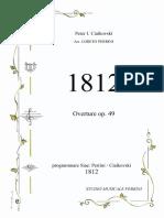 1812 partitura