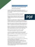 15 exigencias relativas ao estatuto oscip