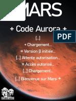 Mars_Code_Aurora_béta_publique