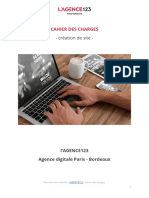 2017 Cahier Des Charges Type Creation Site Web