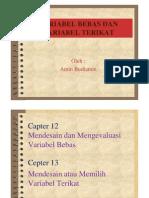 VARIBEL BEBAS DAN VARIABEL TERIKAT (Cad) [Compatibility Mode]