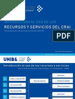 Introduccion al CRAI_Curso de Orientacion Universitaria UNB-100_2019