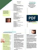 DHH Parent Resources Brochure