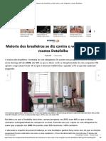 Brasileiros contra o voto