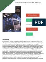 Fiabilité, maintenance prédictive et vibration des machines PDF - Télécharger, Lire