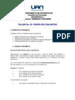 INFORMACION DE CONJUNTOS