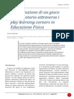 2017_pp.57-63_Munafò_La costruzione di un gioco socio-motorio attraverso i play learning corners