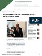 Jean-Pierre Pernaut _ son cadeau inestimable à Marie-Sophie Lacarrau