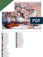 Trandafiri si vioara,65A,30x20