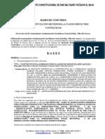 36. BASES DE LICITACIÓN