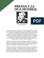 LA PRENSA Y LA POLITICA MUNDIAL - Otto Dietrich