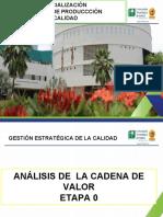 3.0 ETAPA 0. DEFINICIÓN CADENA DE VALOR