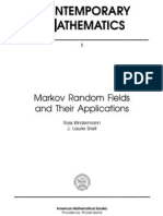 Markov Random Fields And Their Applications - kinderman & snell