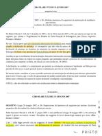 Circolare n.32 Del 13 Giugno 2007 -  Cancelamento (permesso di soggiorno) da autorização de residência para turismo (PT-IT)