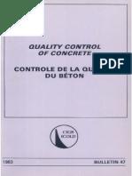 B47- QC beton