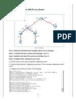 T1-Configuring Basic DHCPv4 Mannai Karim