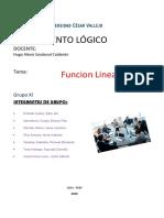 TRABAJO GRUPAL-funcion lineal