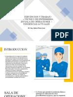 ROL DEL PERSONAL TECNICO EN SALA DE OPERACIONES