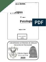 Gastélum, B. J. - Principios de Psicología -2020-
