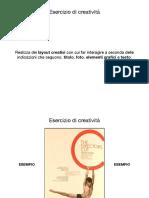 Esercizi Di Creatività - Grafica - Layout Creativi
