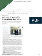 """Lino Barañao_ """"Lo que digo ahora se lo dije antes a CFK"""" _ Revista Noticias"""