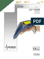 Manual de uso LP 1000 ES_Rev.5