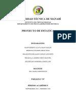 PROTOTIPO DE ESTATICA