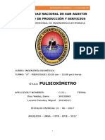Informe - Pulsooximetro
