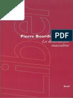 La Domination masculine by Bourdieu Pierre