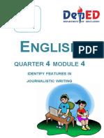 Journalism module
