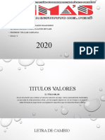 TITULO VALOR ( LETRA DE CAMBIO).pptx
